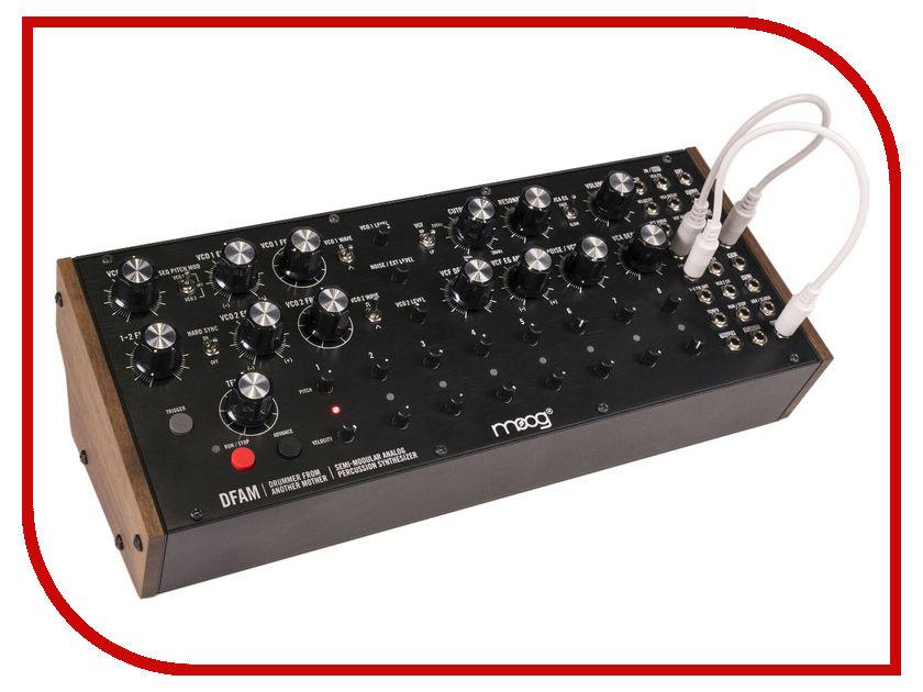 Синтезатор Moog DFAM синтезатор moog werkstatt