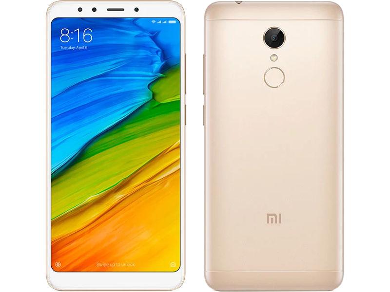 Сотовый телефон Xiaomi Redmi 5 2Gb RAM 16Gb Gold сотовый телефон bq aquaris v 2gb ram 16gb mist gold