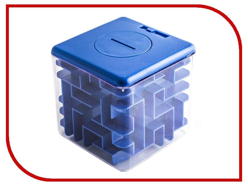 Копилка для денег Эврика Лабиринт 85mm Blue 98724 аддиктаболл шар лабиринт малый