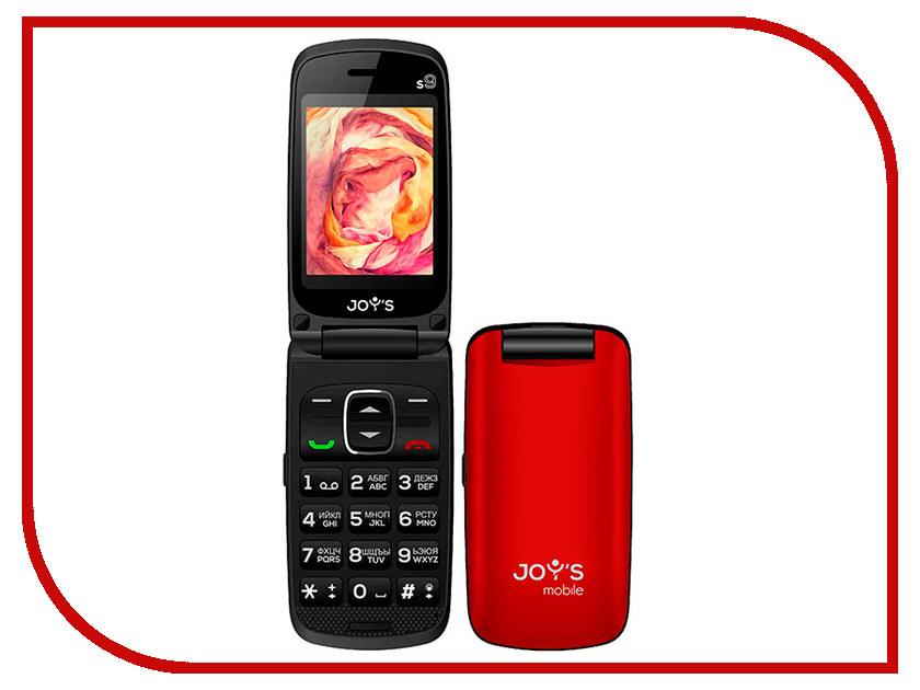 Сотовый телефон Joys S9 DS Vine Red сотовый телефон joys s6 ds grey