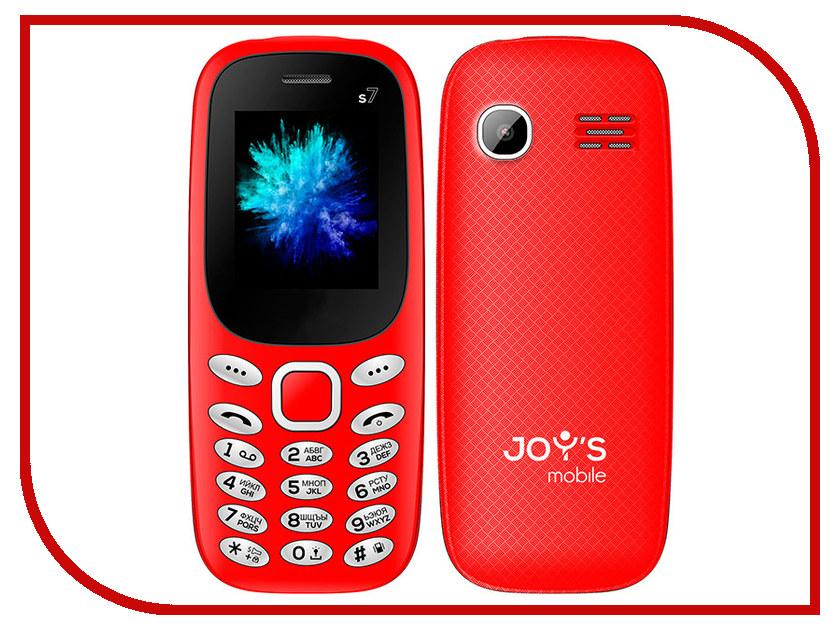 Сотовый телефон Joys S7 DS Red сотовый