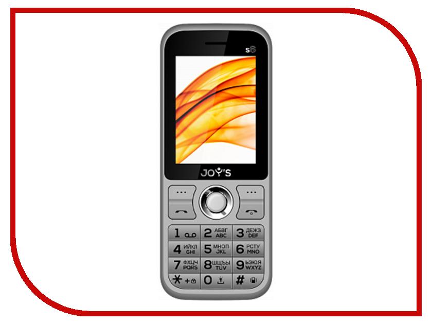 Сотовый телефон Joys S6 DS Grey сотовый
