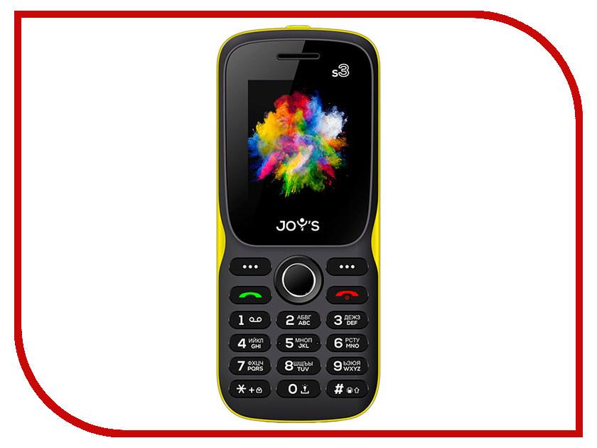 Сотовый телефон Joys S3 DS Black-Yellow сотовый