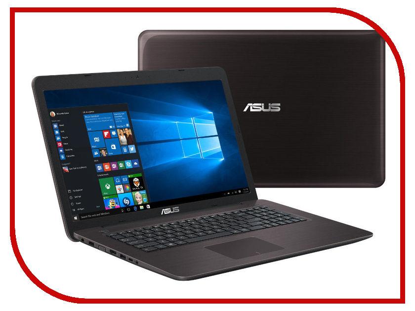 Ноутбук ASUS VivoBook X756UQ-T4332T 90NB0C31-M04740 (Intel Core i3-7100U 2.4 GHz/8192Mb/1000Gb/DVD-RW/nVidia GeForce GT 940MX 2048Mb/Wi-Fi/Bluetooth/Cam/17.3/1920x1080/Windows 10 64-bit) ноутбук asus gl552vw cn866t 90nb09i1 m10940 intel core i5 6300hq 2 3 ghz 8192mb 1000gb dvd rw nvidia geforce gtx 960m 2048mb wi fi bluetooth cam 15 6 1920x1080 windows 10 64 bit