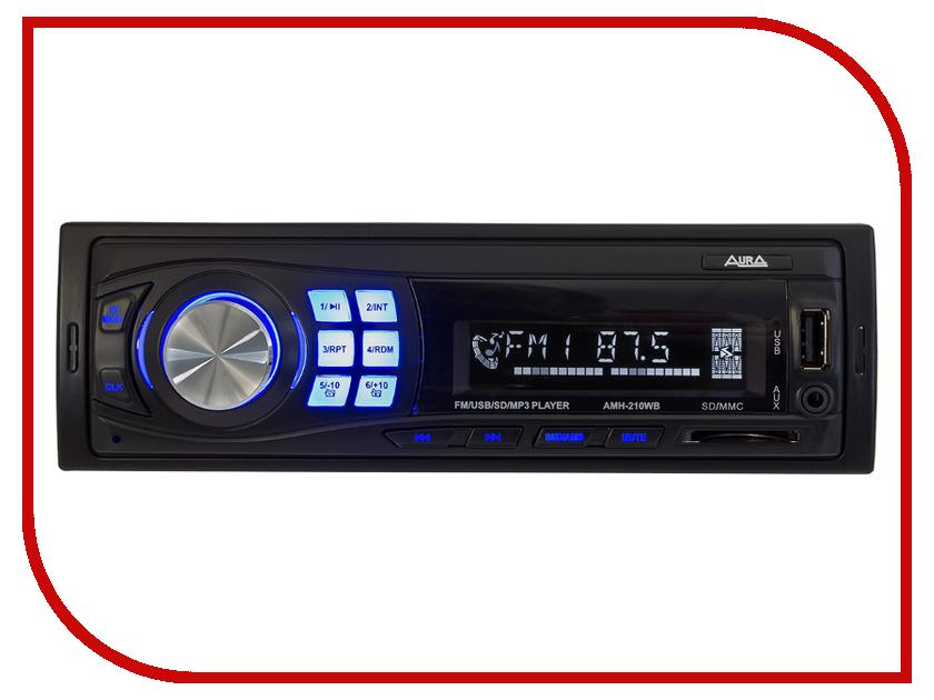 Автомагнитола AURA AMH-210WB автомагнитола aura amh 300m