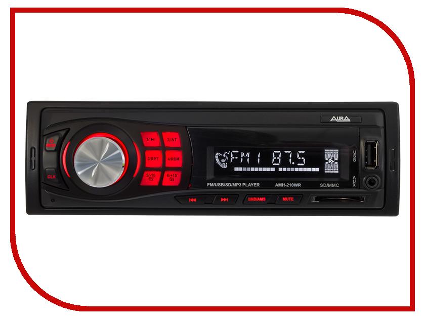 Автомагнитола AURA AMH-210WR автомагнитола aura amh 300m