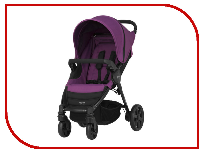 Коляска Britax Romer B-AGILE Mineral Lilac 2000023126 коляска britax romer b agile wood brown 2000023124