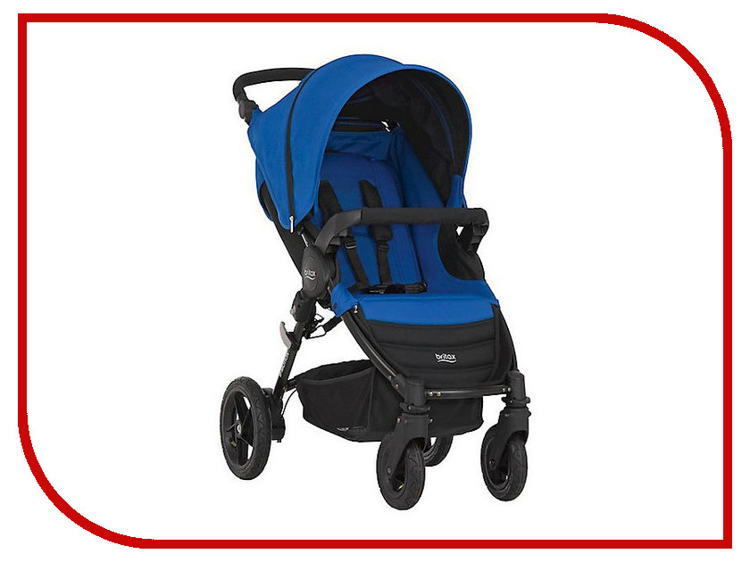 Коляска Britax Romer B-Motion 4 Ocean Blue 2000022961 прогулочные коляски britax b agile 4