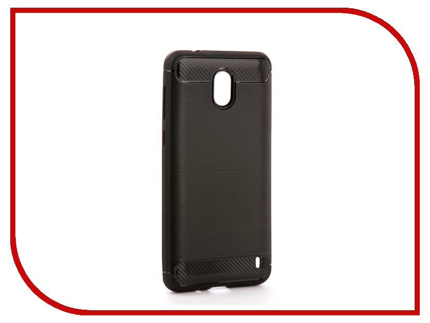 Аксессуар Чехол Nokia 2 Zibelino Cover Back Elegant Black ZCBE-NOK-2-BLK аксессуар чехол huawei nova 2 zibelino cover back elegant black zcbe hua nov2 blk