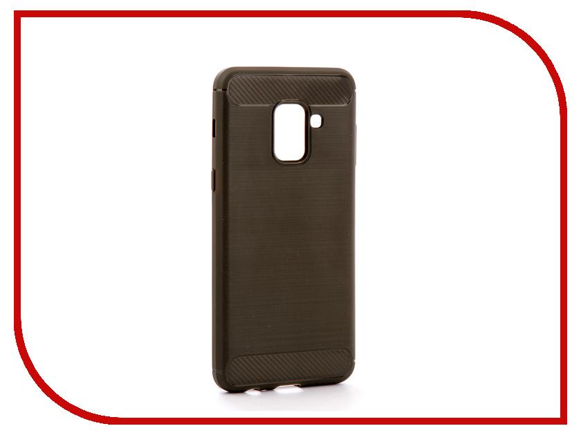 Аксессуар Чехол для Samsung Galaxy A8 2018 A530 Zibelino Cover Back Elegant Grey ZCBE-SAM-A530-GRY