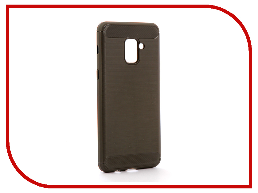 Аксессуар Чехол Samsung Galaxy A8 Plus 2018 A730 Zibelino Cover Back Elegant Grey ZCBE-SAM-A730-GRY аксессуар чехол huawei nova zibelino classico black zcl hua nov blk