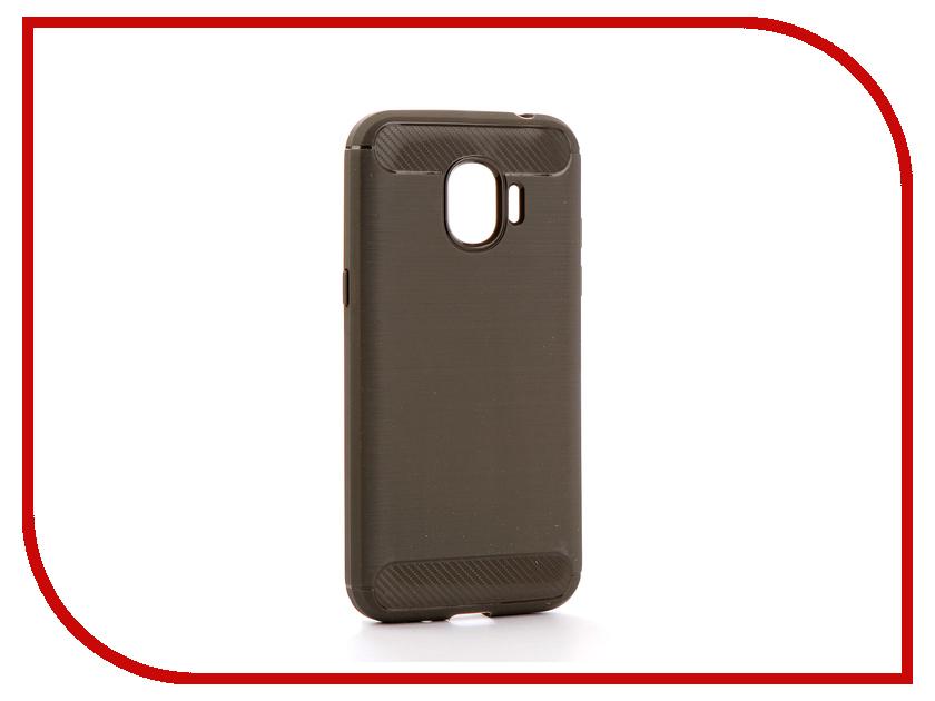 Аксессуар Чехол для Samsung Galaxy J2 2018 J250F Zibelino Cover Back Elegant Grey ZCBE-SAM-J250F-GRY