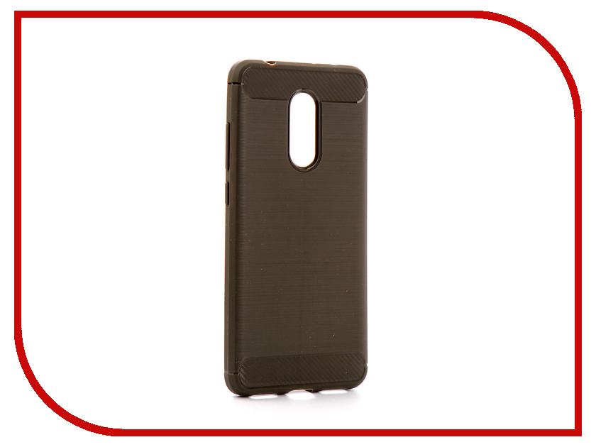Аксессуар Чехол Xiaomi Redmi 5 Zibelino Cover Back Elegant Grey ZCBE-XIA-RDM-5-GRY аксессуар чехол huawei nova 2 zibelino cover back elegant black zcbe hua nov2 blk