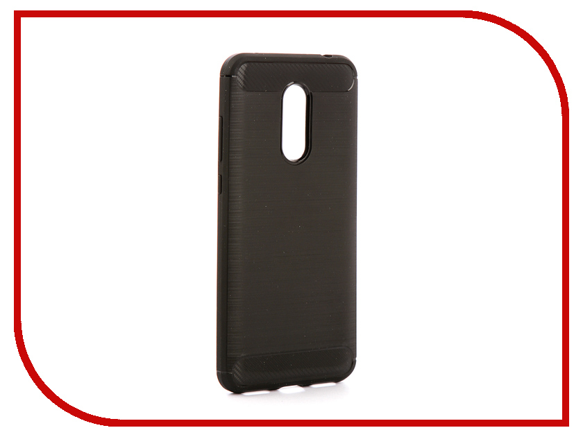 Аксессуар Чехол для Xiaomi Redmi 5 Plus Zibelino Cover Back Elegant Black ZCBE-XIA-RDM-5-PLS-BLK asling drop proof protective cover case for xiaomi redmi 5
