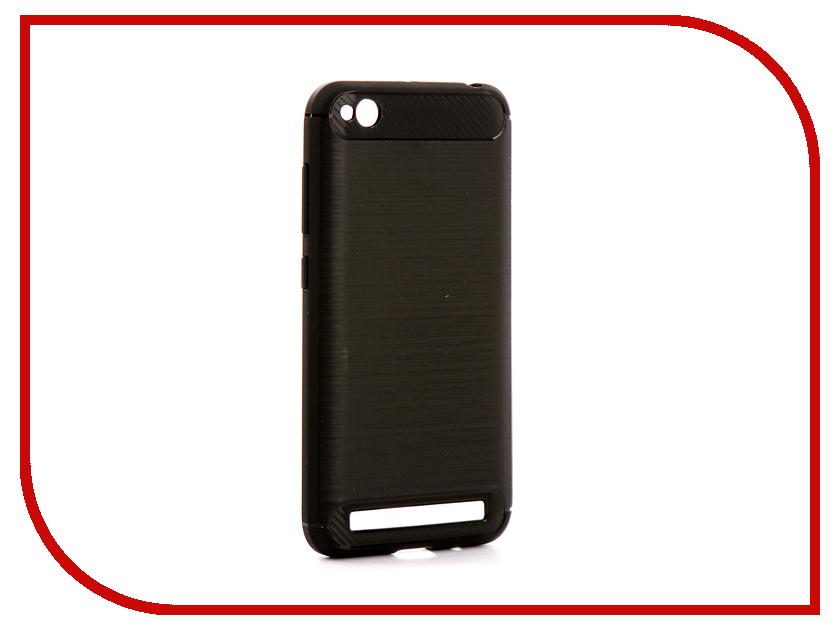 Аксессуар Чехол Xiaomi Redmi 5A Zibelino Cover Back Elegant Black ZCBE-XIA-RDM-5A-BLK аксессуар чехол xiaomi redmi pro zibelino classico black zcl xia pro blk