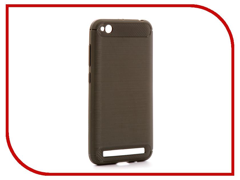 Аксессуар Чехол Xiaomi Redmi 5A Zibelino Cover Back Elegant Grey ZCBE-XIA-RDM-5A-GRY аксессуар чехол samsung j3 2017 j330f zibelino clear view black zcv sam j330 blk