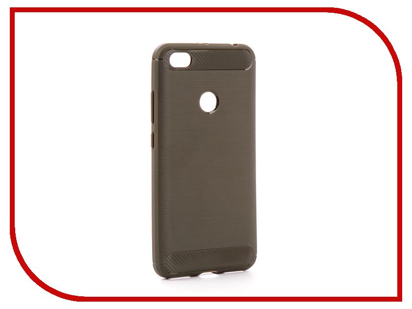 Аксессуар Чехол Xiaomi Redmi Note 5A 32/64Gb Zibelino Cover Back Elegant Grey ZCBE-XIA-RDM-NOT5A-32-GRY аксессуар чехол huawei nova zibelino classico black zcl hua nov blk