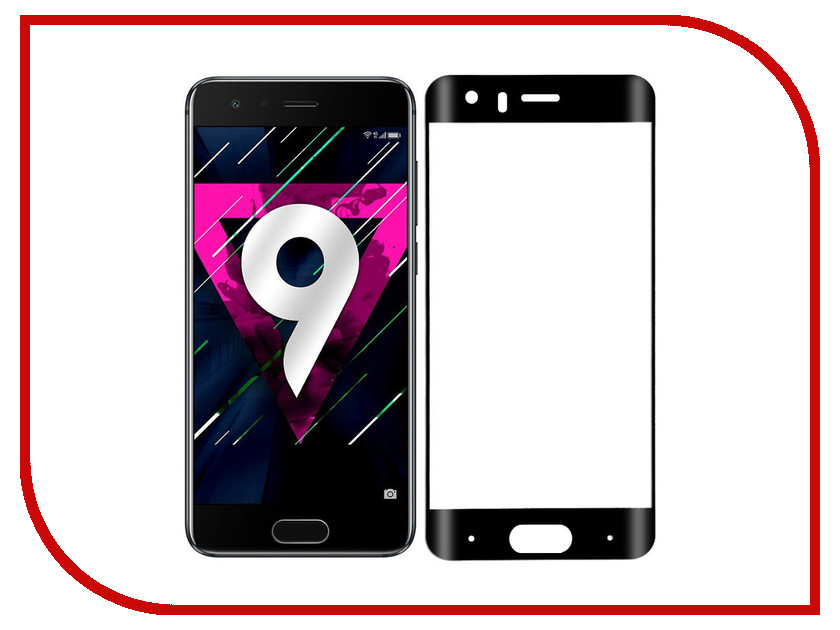 Аксессуар Защитное стекло Huawei Honor 9 CaseGuru Full Screen 0.33mm Black 99578 аксессуар защитное стекло huawei y5 ii caseguru 0 33mm 87169