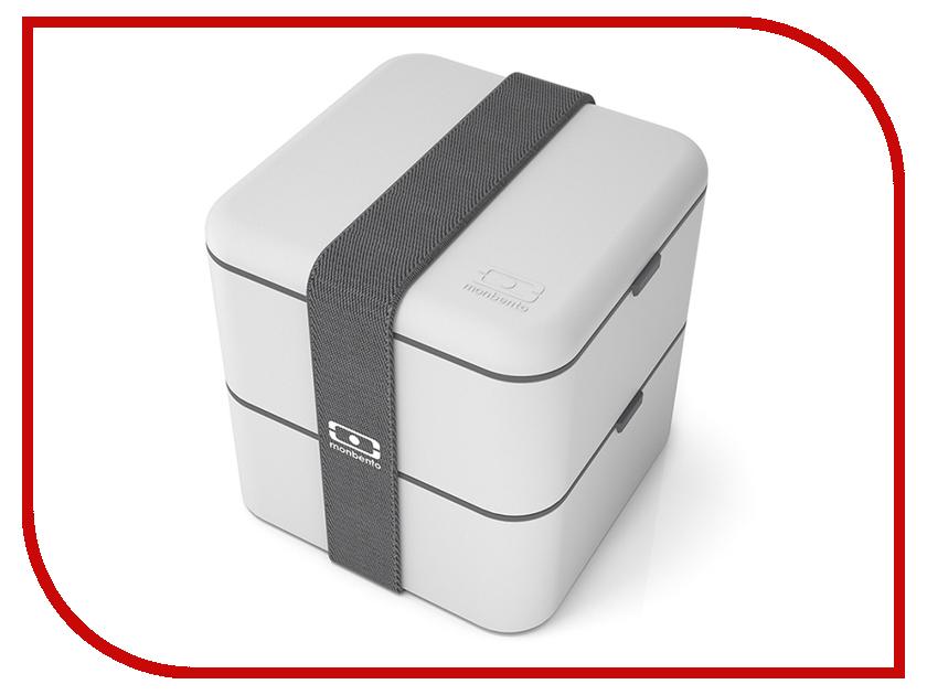 Ланч-бокс Monbento MB Square Light Grey 1200 13 110 monbento mb square grey