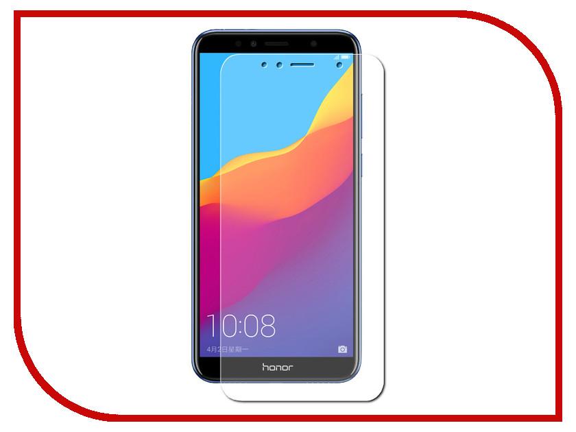 Аксессуар Гибридная защитная пленка для Huawei Honor 7A Pro Red Line УТ000014476 аксессуар защитная пленка nokia 7 plus red line гибридная