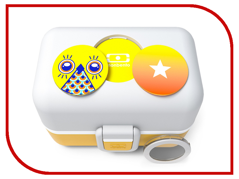 Ланч-бокс Monbento MB Tresor Mustard 3000 01 021 monbento ланч бокс mb original new edition litchi 10х19х9 4 см розовый