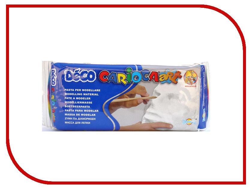 Набор для лепки Carioca Deco 500g White 30996/31
