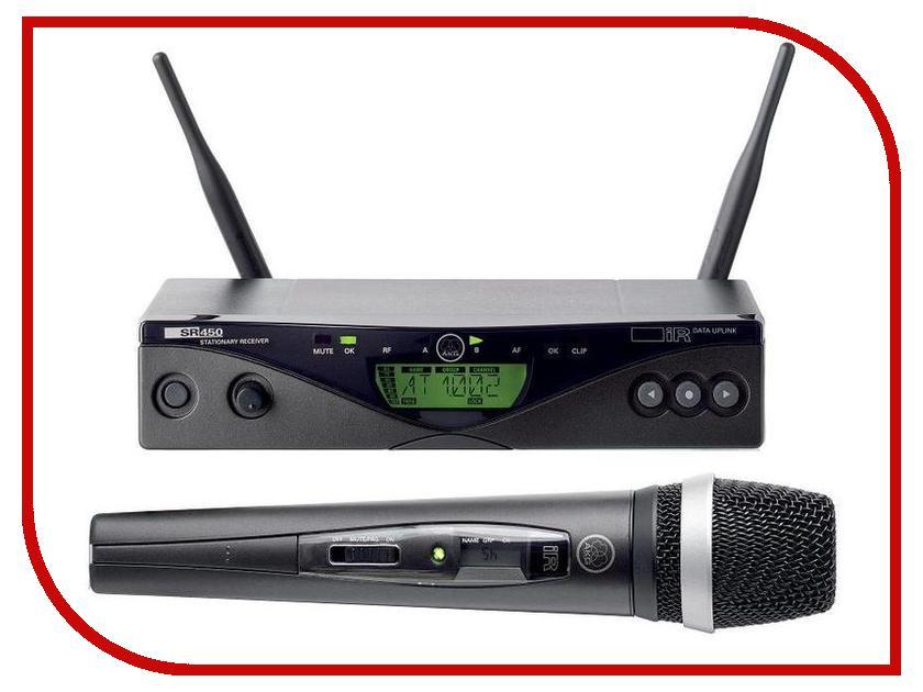 Радиосистема AKG WMS450 Vocal Set D5 BD5 akg y 20u