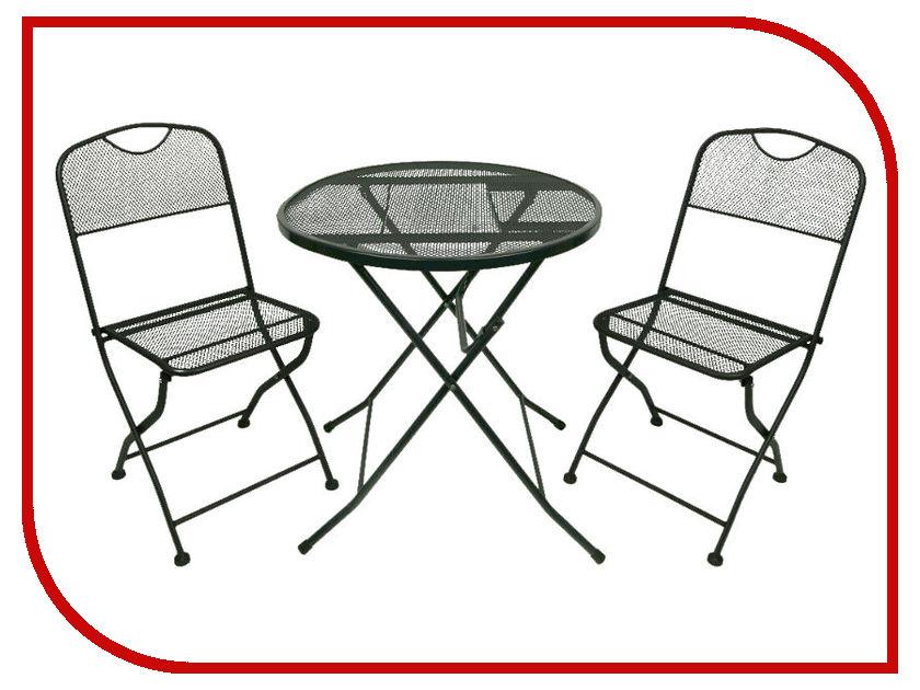Набор складной мебели Go Garden Alicante Black 50364 раскладушка go garden camper 50302