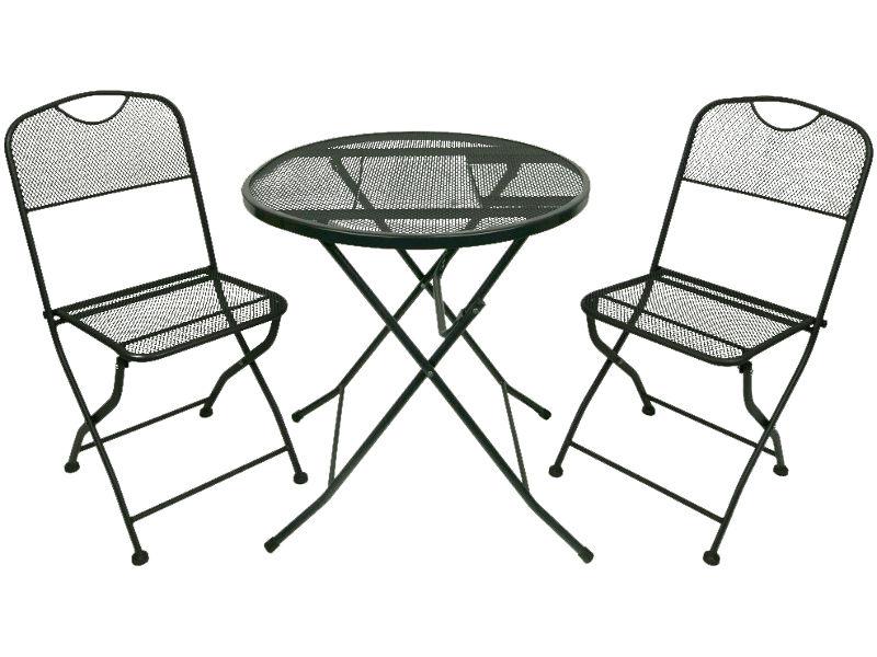 Набор складной мебели Go Garden Alicante Black 50364