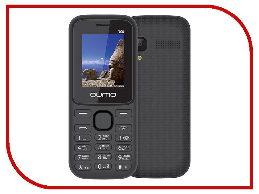 Сотовый телефон Qumo Push X5 Black