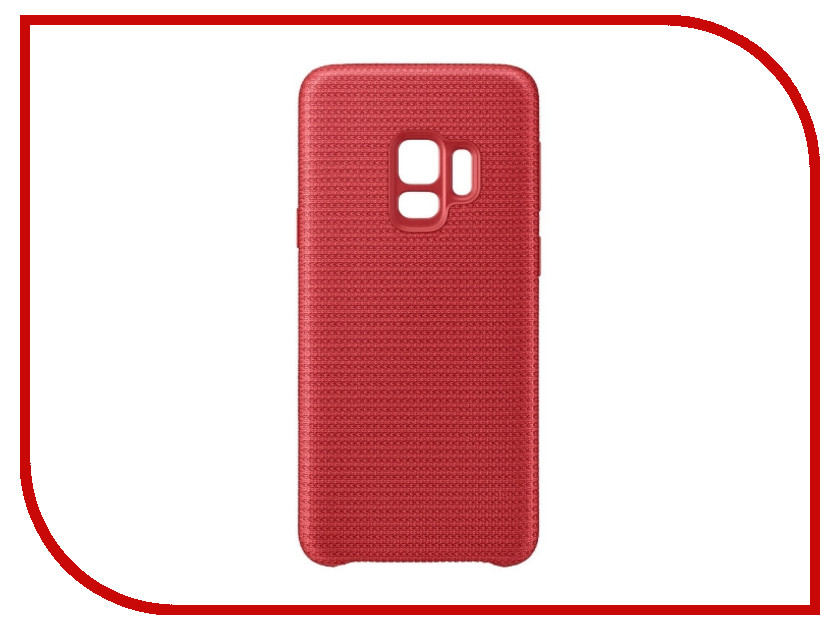 Аксессуар Чехол Samsung Galaxy S9 Hyperknit Cover Red EF-GG960FREGRU аксессуар чехол samsung galaxy s9 plus alcantara cover red ef xg965aregru