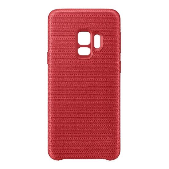Аксессуар Чехол Samsung Galaxy S9 Hyperknit Cover Red EF-GG960FREGRU