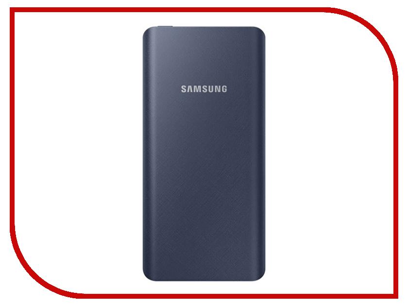 Аккумулятор Samsung 10000mAh Dark Blue EB-P3000CNRGRU внешний аккумулятор samsung eb pg930bbrgru 5100mah черный