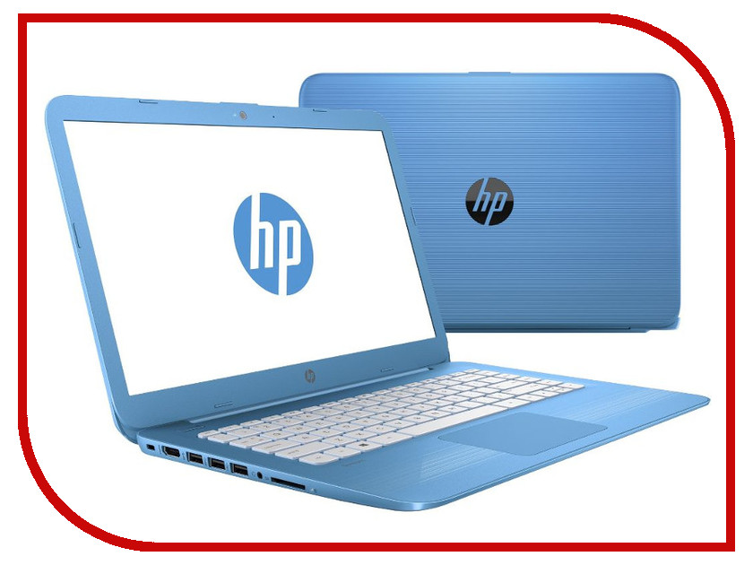 все цены на Ноутбук HP Stream 14-ax011ur 2EQ28EA (Intel Celeron N3060 1.6 GHz/2048Mb/32Gb SSD/No ODD/Intel HD Graphics/Wi-Fi/Bluetooth/Cam/14.0/1366x768/Windows 10) онлайн