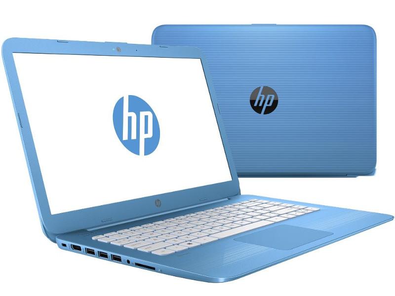 Ноутбук HP Stream 14-ax011ur 2EQ28EA (Intel Celeron N3060 1.6 GHz/2048Mb/32Gb SSD/No ODD/Intel HD Graphics/Wi-Fi/Bluetooth/Cam/14.0/1366x768/Windows 10)