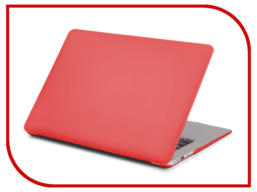 Фото Аксессуар Чехол Gurdini TouchBar для APPLE MacBook Pro Retina 15 Red 902928
