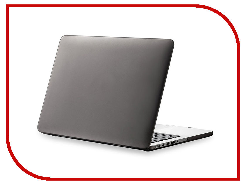 Фото Аксессуар Чехол Gurdini TouchBar для APPLE MacBook Pro Retina 15 Grey 902926