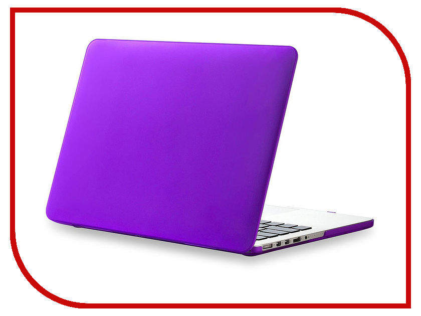 Аксессуар Чехол Gurdini TouchBar для APPLE MacBook Pro Retina 15 Violet ноутбук apple macbook pro 15 4