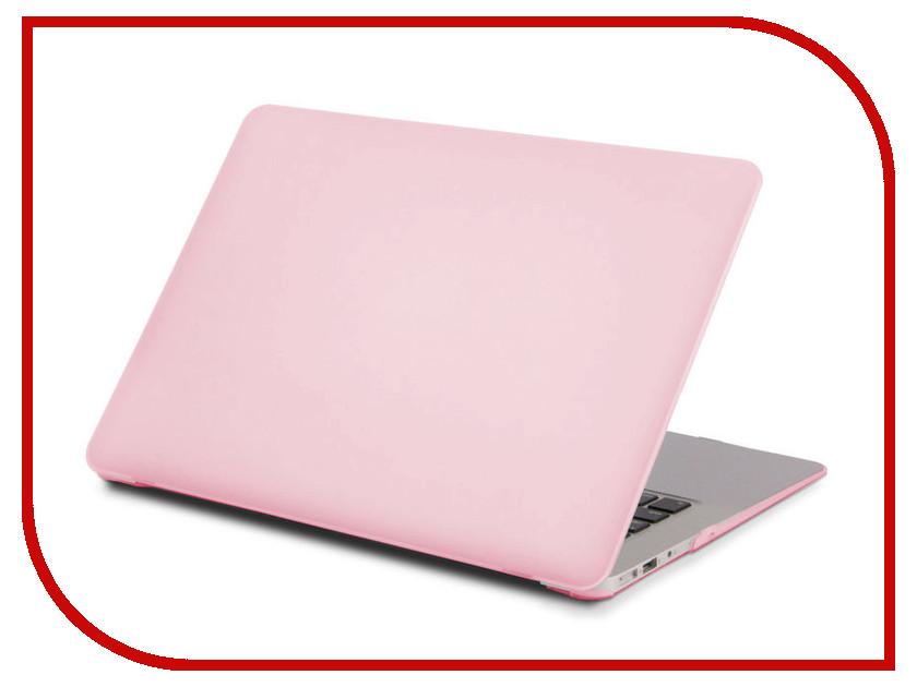 цена на Аксессуар Чехол Gurdini для APPLE MacBook Air 13 Matt Light Pink 902941