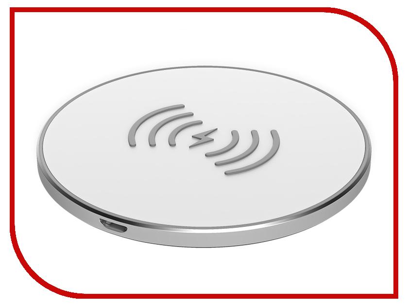 Зарядное устройство Partner Olmio 10W Quick Charge White ПР038527 беспроводное зарядное устройство partner olmio quick charge 10w microusb черный пр038528
