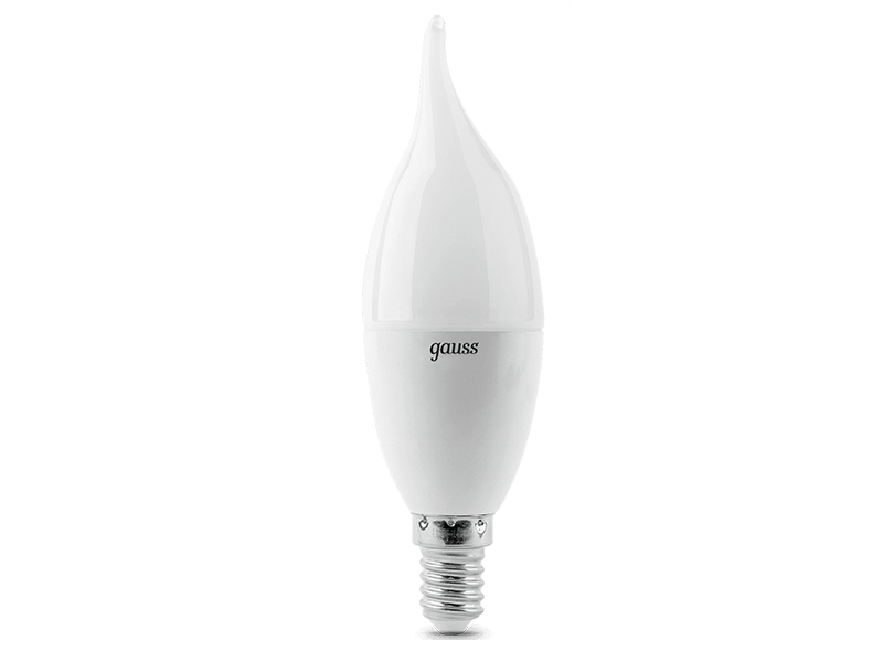 Лампочка Gauss LED Candle Tailed E14 9.5W 3000K 104101110