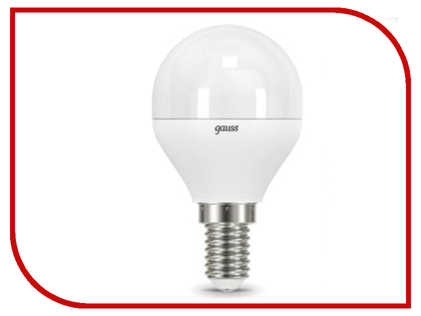 Лампочка Gauss LED Globe E14 9.5W 3000K 105101110 лампочка thomson tl 35w f1 3 2w 3000k 220 240v e14 180232