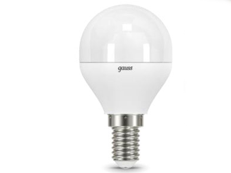 Лампочка Gauss LED Globe E14 9.5W 3000K 105101110
