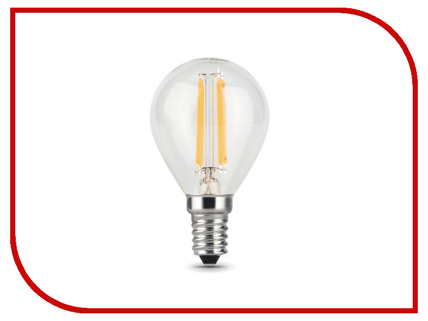 Лампочка Gauss LED Filament Globe E14 9W 4100K 105801209 free shipping by dhl ip68 stainless steel high power 9w led swimming pool light underwater led light ds 10 1 9w 3x3w 12v dc