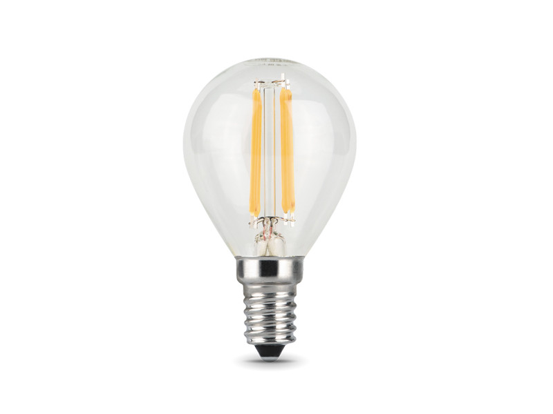 Лампочка Gauss LED Filament Globe E14 9W 4100K 105801209