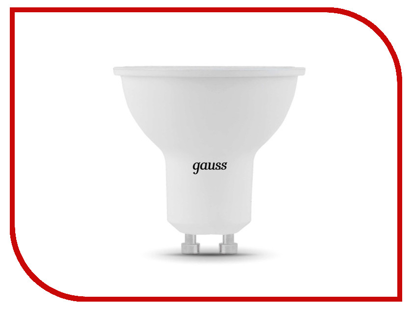 Лампочка Gauss LED GU10-dim MR16 5W 4100K 101506205-D лампочка leek premium le mr16 5630 9 5w 3000k gu5 3 le010504 0020