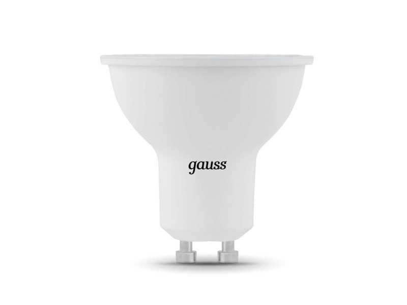 Лампочка Gauss LED GU10-dim MR16 5W 4100K 101506205-D лампочка gauss led filament candle tailed dimmable e14 5w 4100k 104801205 d