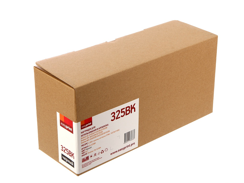 Картридж EasyPrint LB-325BK Black для Brother HL-4140CN/4150CDN/4570CDW/DCP-9055CDN/9270CDN/MFC-9460CDN/9465CDN/9970CDW boxpop lb 081 45