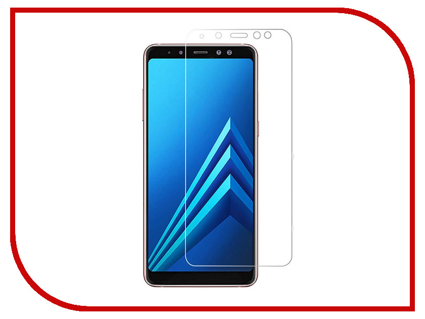 Аксессуар Защитное стекло Samsung Galaxy A8 2018 Onext 41640 гибридное аксессуар защитное стекло samsung galaxy a3 2017 solomon full cover black