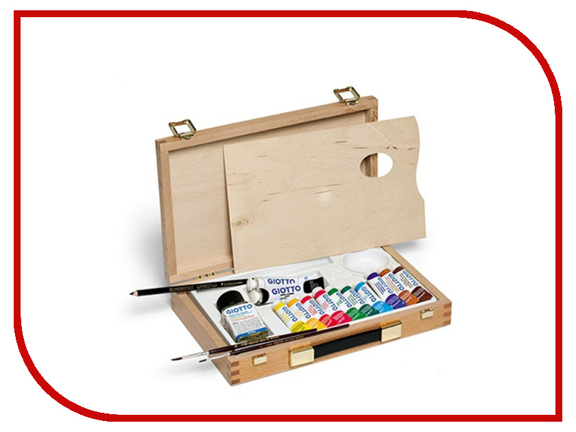 Набор художника Giotto Wooden Case 507000